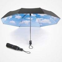 Parapluie ciel bleu