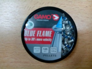 LOT DE PLOMBS BLUE FLAME PELLETS GAMO
