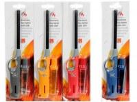 Allume feu à gaz rechargeable 27cm coloris assortis à partir de 2€09 HT