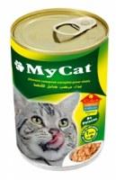 Aliment pour chat au poisson