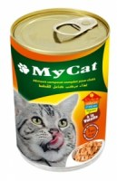 Aliment pour chat à la volaille
