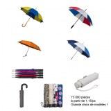 Grand choix de parapluies