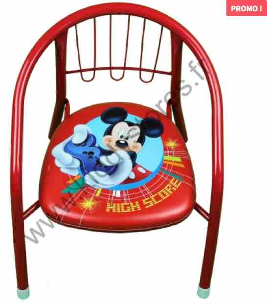 fournisseur chaise mickey kiddystores destockage grossiste. Black Bedroom Furniture Sets. Home Design Ideas