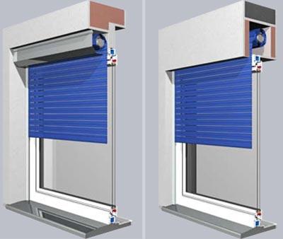 Prix volet roulant manuel aluminium devis pose volet roulant - Volet roulant coffre interieur renovation ...