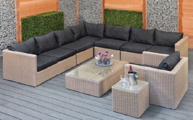 lot de salons de jardin en wicker destockage grossiste. Black Bedroom Furniture Sets. Home Design Ideas