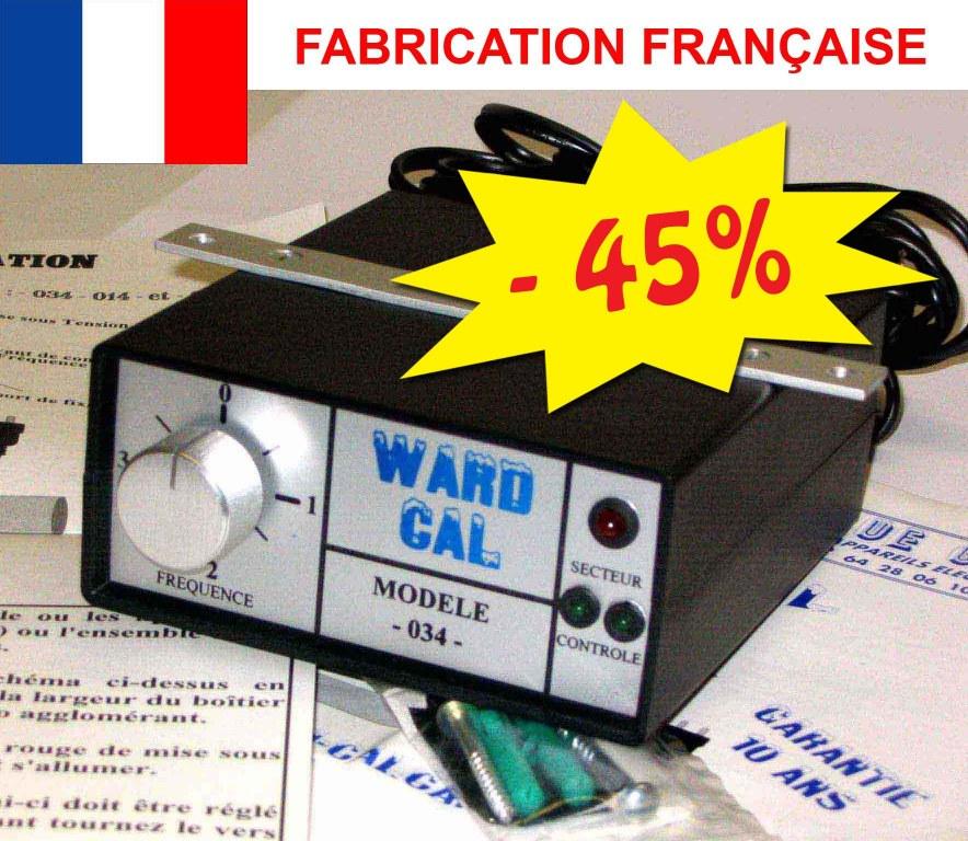Anti calcaire anti tartre electronique ward cal garantie for Anti tartre electronique comap