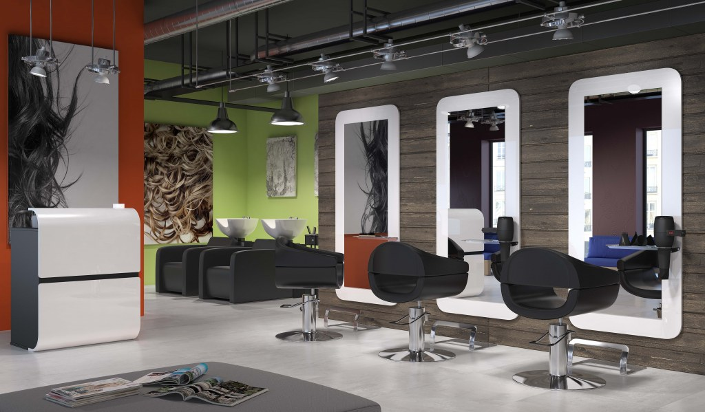 Pack mobilier salon coiffure bertie 3 postes destockage for Acheter salon complet