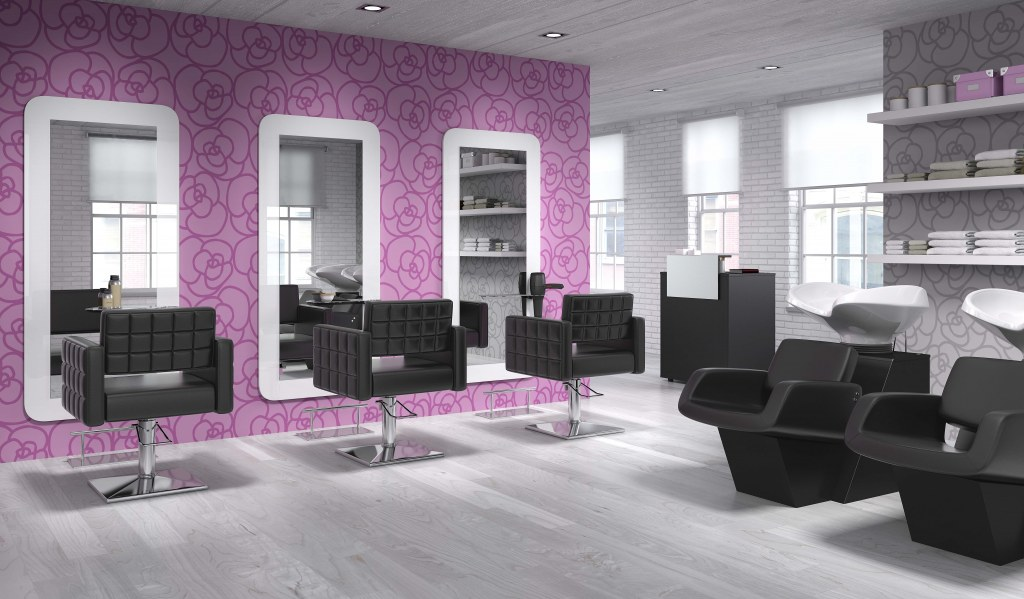 Photo Salon De Coiffure Moderne Au Cameroun : Pack mobilier salon pride postes destockage grossiste