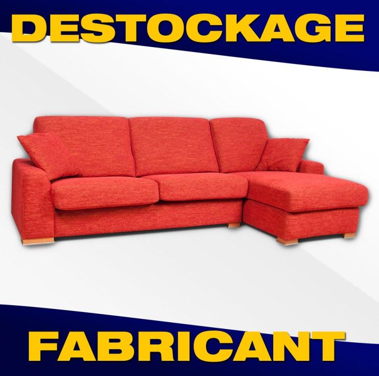 canape d 39 angle assise coulissante modele lazzio destockage grossiste. Black Bedroom Furniture Sets. Home Design Ideas