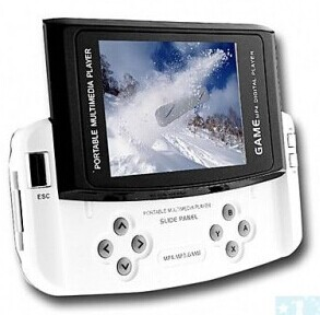 Grossiste, fournisseur et fabricant M23/2.8 Inch Slip Design Game MP4 Player (4GB)
