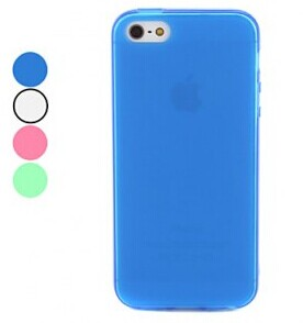 Grossiste,fournisseur chinois: Frosted conception TPU souple pour iPhone 5
