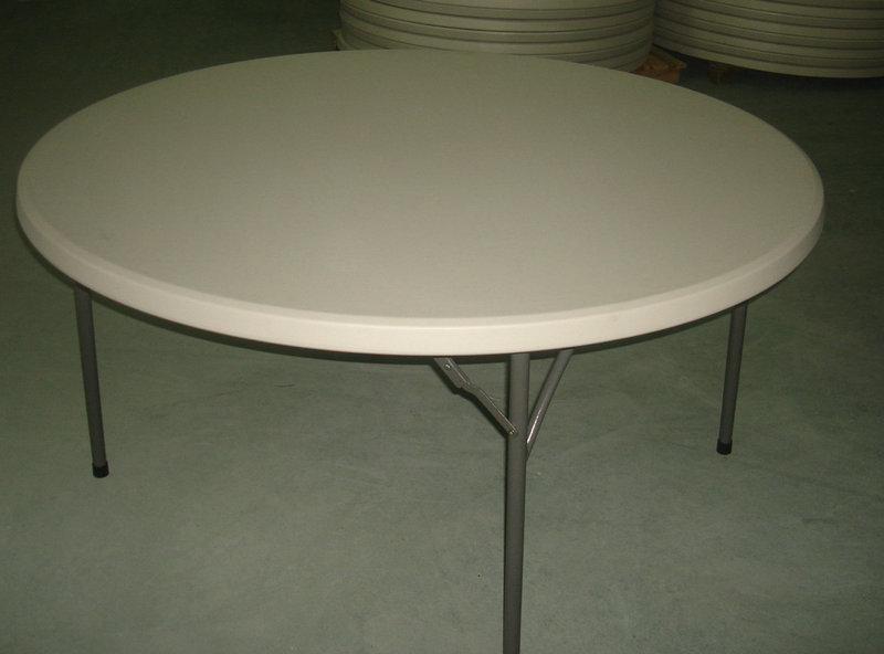 Table pliante ronde 150cm professionnel - Table pliante professionnel ...
