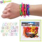 Bracelet forme bandz 40 themes differents 100% silicone