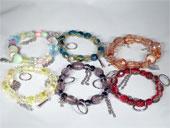 Lots bracelets fantaisie spécial été