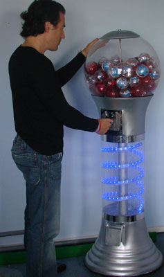 Distributeur automatique de bonbon jouet destockage - Distributeur de bonbons professionnel ...