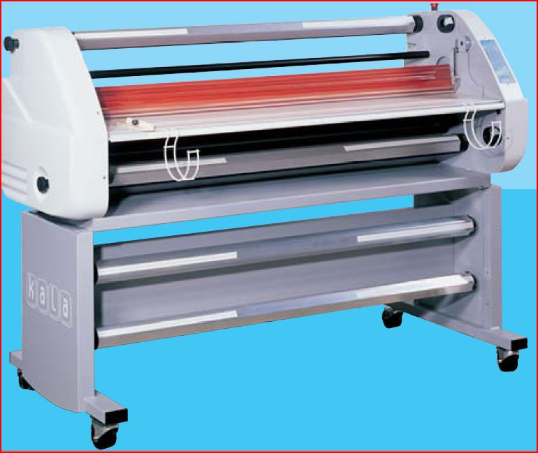 laminateur plastifieuse a froid kala mistral 1600 hr destockage