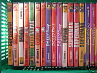 Lot de 5 DVD Cartoons