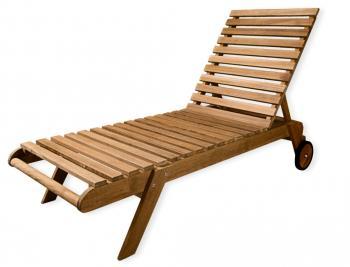 chaise longue en teck ambiances lointaines destockage grossiste. Black Bedroom Furniture Sets. Home Design Ideas