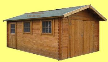 Garage en bois 34mm dephibois destockage grossiste for Garage gold nevers avis