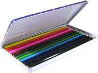 Boite de 12 crayons de couleur 18 x 10cm