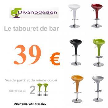 tabouret de bar destockage
