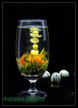 boules de fleur de thé vert weedee destockage grossiste