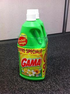 Lessive gama