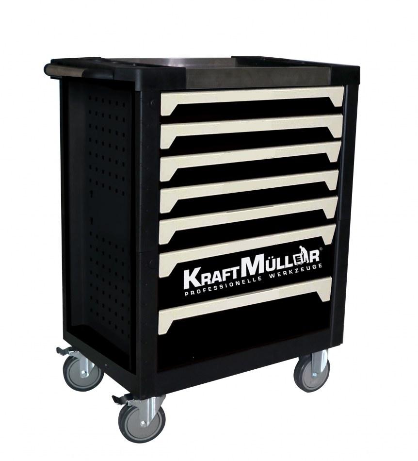 XXXL Chariot à Outils Premium rempli par mousse dépôts chariot d/'atelier