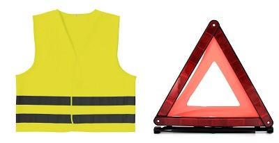 kits de s curit gilet triangle aux normes destockage grossiste. Black Bedroom Furniture Sets. Home Design Ideas