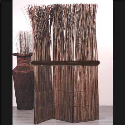 Paravent artisanal de branches naturelles 160x120cm for Achat branche bois