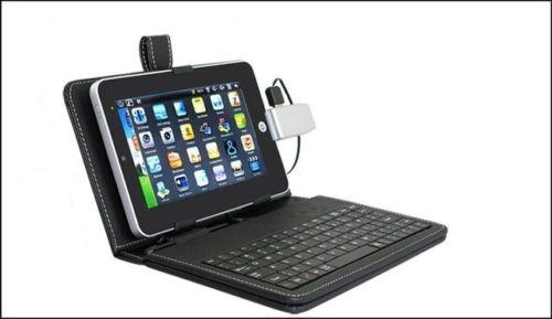 tablette pc tactile 7 android 2 2 wifi webcam 4gb pochette clavier. Black Bedroom Furniture Sets. Home Design Ideas