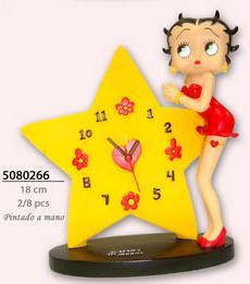 Réveil Betty Boop Star PLANET PROD Destockage Grossiste