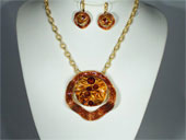 Parure de création bijoux Haute Fantaisie