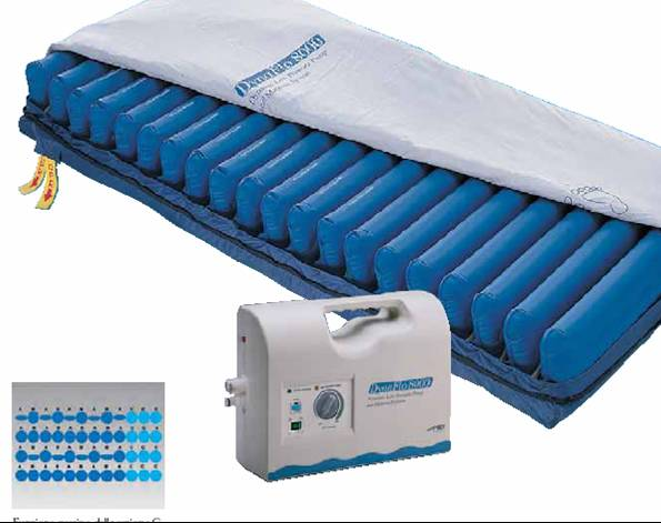 Matelas anti escarres alternating dyna flo 8000 destockage grossiste - Prix matelas anti escarre ...