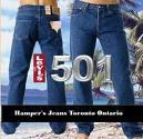 JEAN'S LEVIS 501