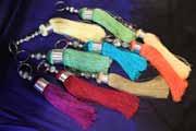 Artisanat Marocain : Porte clé Choucha en soie