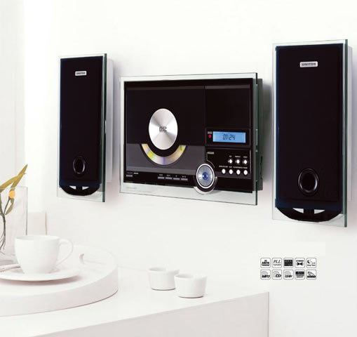 zonosound hifi st r o cd mp3 usb murale. Black Bedroom Furniture Sets. Home Design Ideas