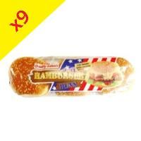 Hamburgers sésame x6 pièces