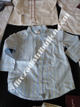 Chemises et Polos Enfant Neck.