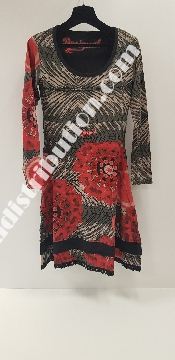 Robes Desigual manches longues