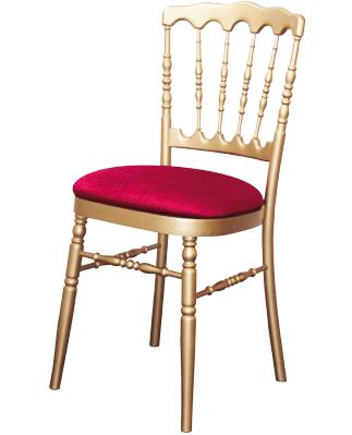 Grossiste Chaise Napoleon Dor 233 E Et Rouge Destockage