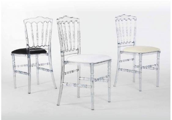 grossiste chaise napoleon transparente destockage. Black Bedroom Furniture Sets. Home Design Ideas