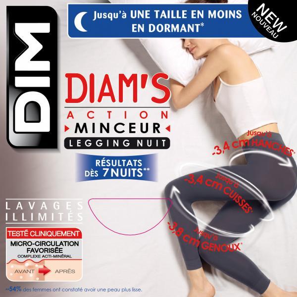 Legging action minceur dim nuit taille 1 2 3 4 destockage for Action minceur