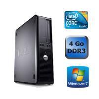 PC DELL Optiplex 780 Core 2 Duo E7500 2,93Ghz 2Go DDR3 250Go Win 7 Pro