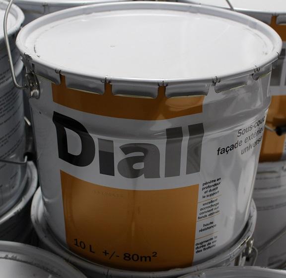 Sous Couche Façade Extérieur Peinture Diall Castorama Pot De 10