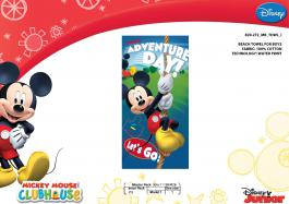 Drap de plage ou drap de bain Mickey Disney - 820-272