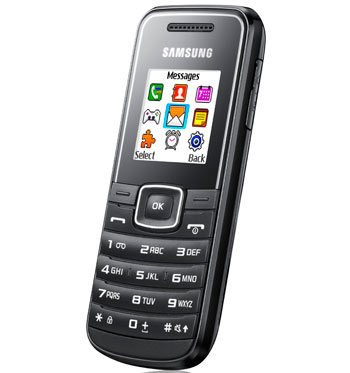 lot de 30 t l phones portables samsung e1050 neuf destockage grossiste. Black Bedroom Furniture Sets. Home Design Ideas