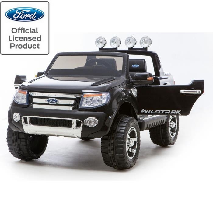 voiture lectrique 4x4 enfant 12v ford ranger wildtrack 2 places. Black Bedroom Furniture Sets. Home Design Ideas