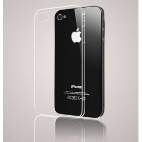 Lot de 100 coques transparentes iphone 4 4s