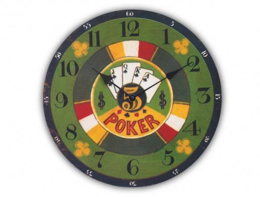 horloge d co am ricaine las vegas poker destockage grossiste. Black Bedroom Furniture Sets. Home Design Ideas